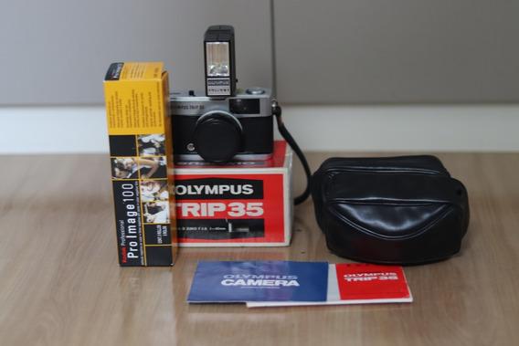 Olympus Trip 35 E Acessórios Originais.