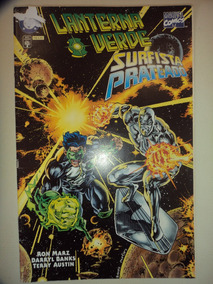 Lanterna Verde Surfista Prateado Editora Abril 1997