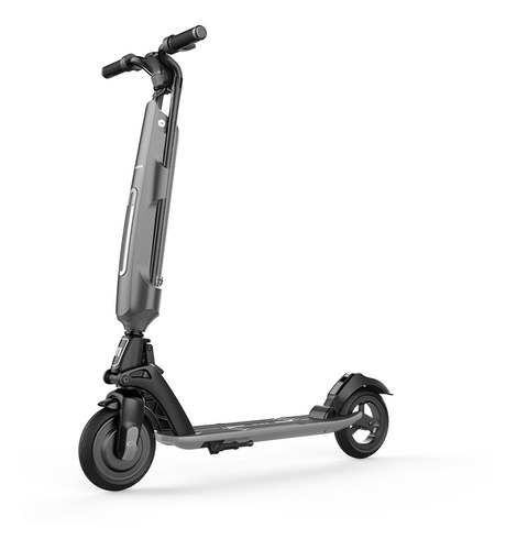 Monopatin Electrico Scooter Auton.30km Usb Gris Schoom