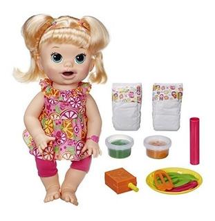 Baby Alive Snacks Super Snackin Sara Blonde Habla English Do