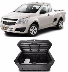 Caixa Baú Caçamba Bagageiro Chevrolet Montana Simple C/chave