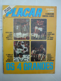 Revista Placar Nº 347 Dez/76