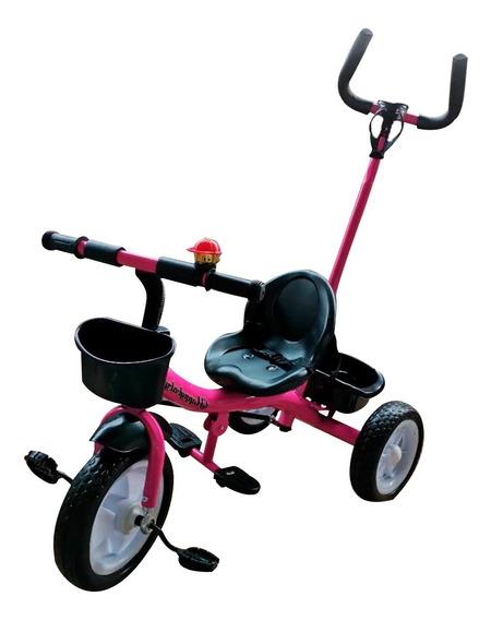 Triciclo Infantil Empurrador Passeio Motoca Velotrol