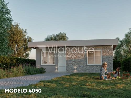 Imagen 1 de 4 de Vilahouse Casas Prefabricadas, Modelo 4050 2 Dorm. + 1 Baño