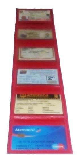 Porta Credenciales 06 Carnet Motorizados Y Afines 2.5 $