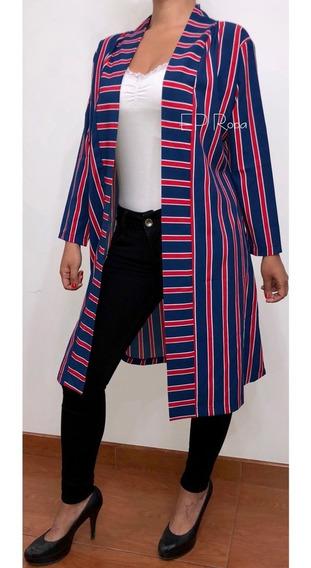Kimono Largo Cuello Cardigan Seda Moda Mujer Juvenil Suelto