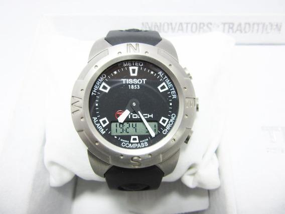 Relógio Tissot T-touch Z-253/353 Titanium + Frete Grátis