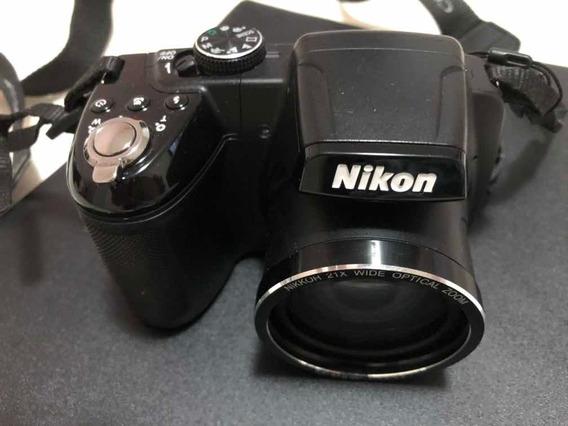 Máquina Fotográfica Nikon Coolpix L315 ( Usada ) 16megapixel