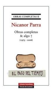 Obras Completas Nicanor Parra 2 & Algo + (19. Envio Grat