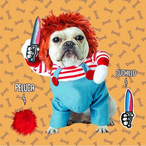 Disfraz De Chucky O Tiffany Para Mascotas