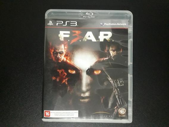 Fear 3 Ps3 Usado