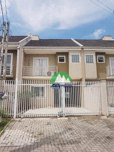 Sobrado À Venda, 131 M² Por R$ 520.000,00 - Pinheirinho - Curitiba/pr - So1460