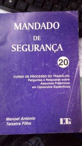 Mandado De Seguranca 20 - Curso Proc.trabalho