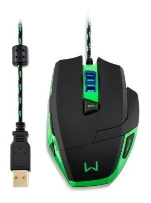 Mouse Warrior Gamer 3200dpi Mo245 Multilaser