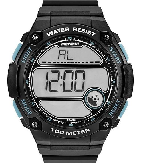 Relógio Mormaii Masculino Digital Preto