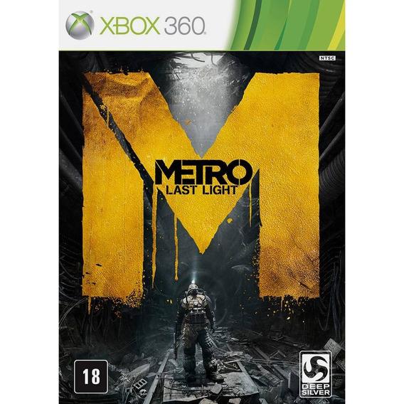 Metro Last Light - Xbox 360 - Mídia Fisica