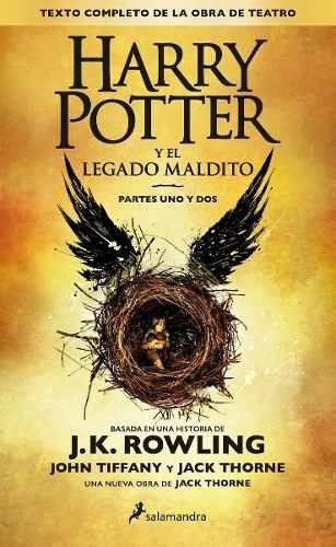 Harry Potter Y El Legado Maldito - J. K. Rowling -dhl Grati