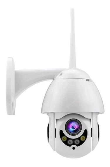 Câmera De Segurança Ptz Full Hd Wifi Mini Speed Dome Frete G