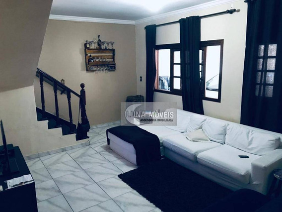 Sobrado Com 3 Dormitórios À Venda, 300 M² Por R$ 732.000,00 - Paulicéia - São Bernardo Do Campo/sp - So0632