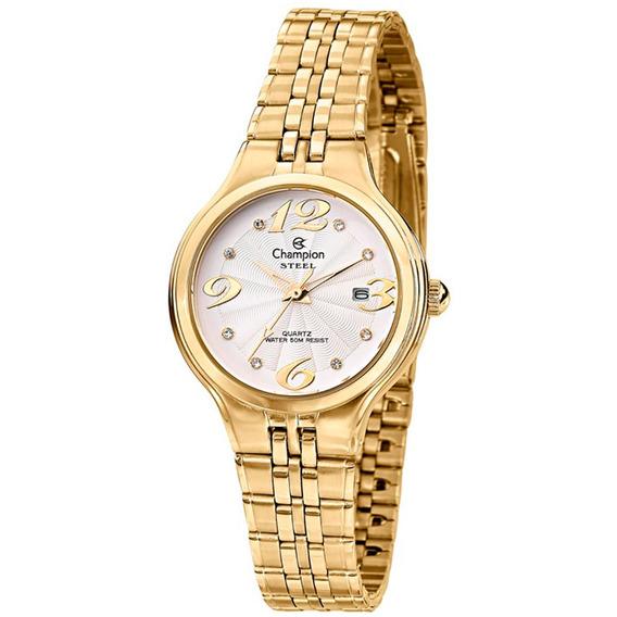 Relógio Champion Feminino Steel Cs28147h