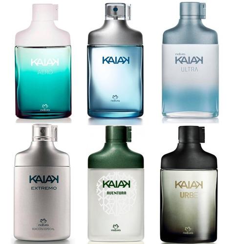 6 Perfume Kaiak Hombre Natura Urbe, Aer - mL a $602