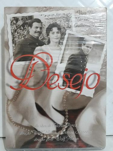 Minissérie Desejo Box 3 Dvds Originais