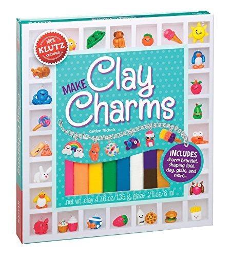 Klutz Make Clay Charms Kit De Artesanía