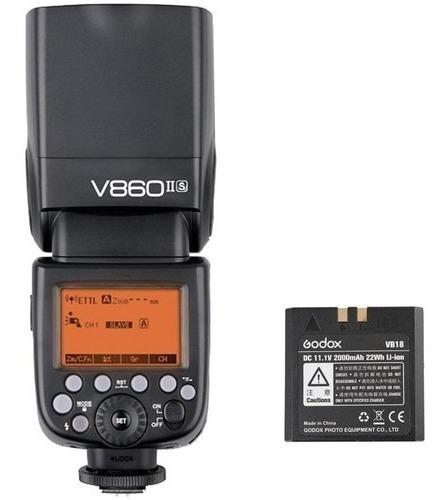 Flash Godox Ving V860ii Fuji Receptor Bateria V860 Ii