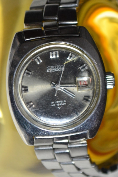 Relógio Seiko Automatic 21 Jewels Hi-beat 2205-0210 Feminino