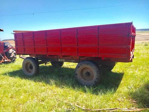 Reboque Agrícola Bulling 9 1/2 Toneladas
