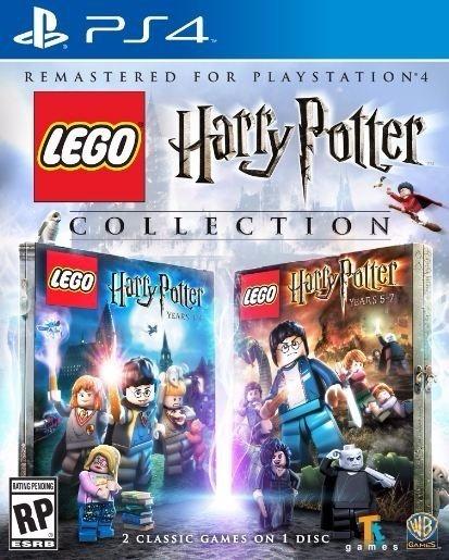 Jogo Mídia Física Lego Harry Potter Collection Ps4