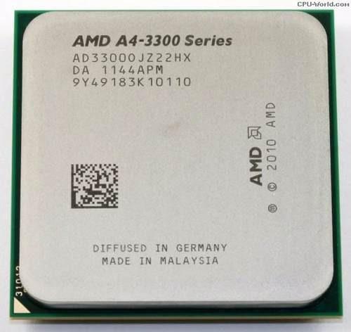 Processador Amd A4 3300 Socket Fm1 2.5ghz Ad33000jz22hx Oem