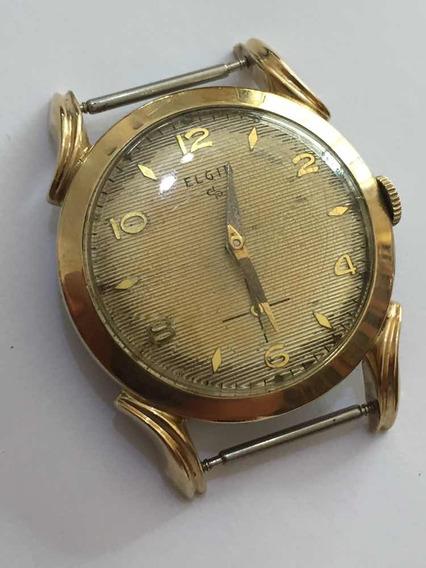 Muito Antigo Relógio Elgin A Corda Caranguejo