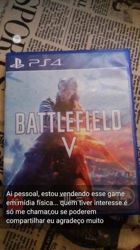 Imagem 1 de 1 de Battlefield V Standard Edition  Ps4 Físico Usado