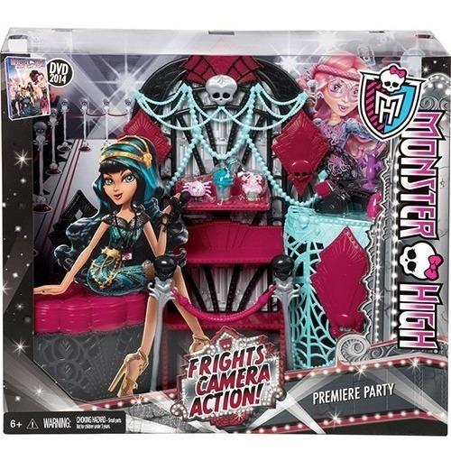 Monster High Monstros Câmera Ação E Acessórios Cleo De Nile