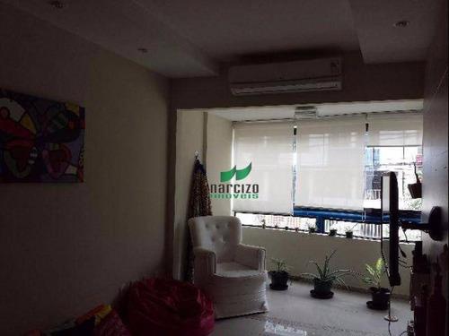 Apartamento Com 3 Dormitórios À Venda, 140 M² Por R$ 390.000,00 - Costa Azul - Salvador/ba - Ap0440
