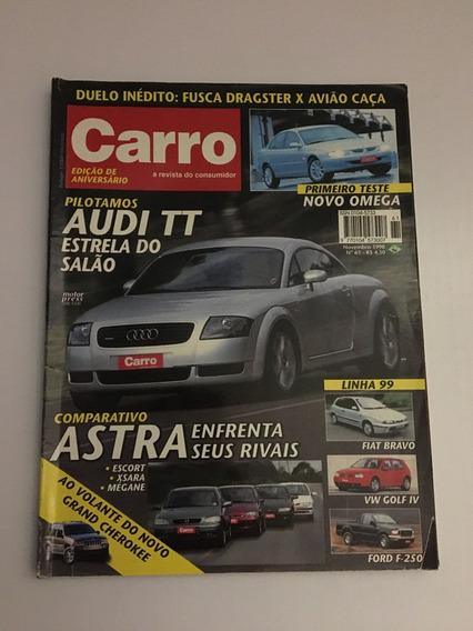 Revista Carro 61 - Novembro 1998 Audi Tt Golf