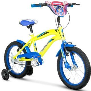 Bicicleta Cross R12 Varon Crossboy Niños Topmega Armada