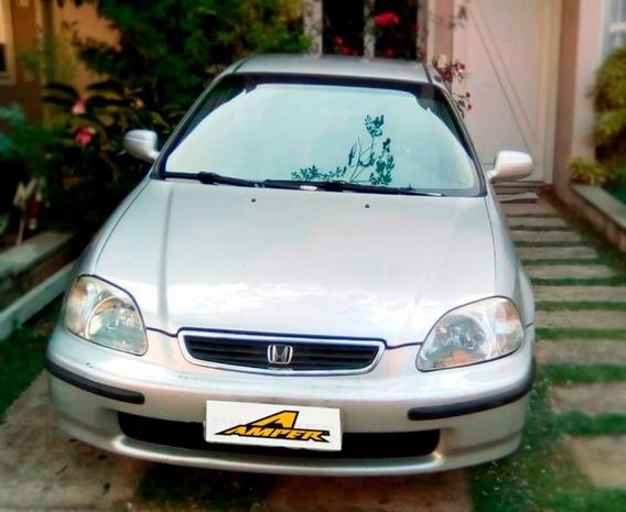 Honda Civic Sedan Lx 1.6 16v Aut. 1998 B75