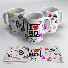 Caneca Eu Amo Os Anos 80 - I Love 80