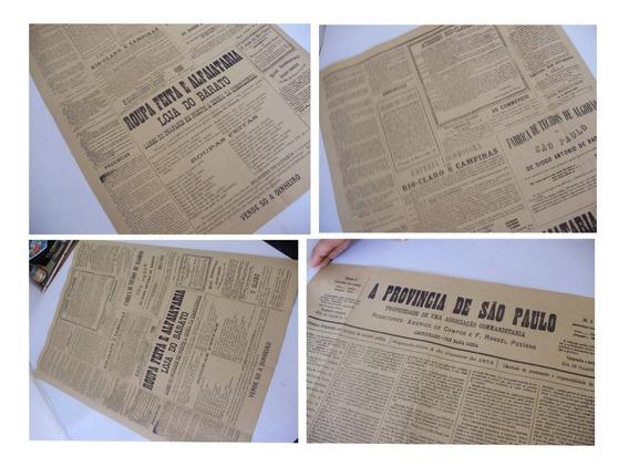 Jornal O Estado De São Paulo De 1875