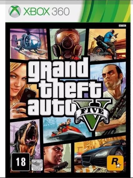 Gta V Midia Digital Xbox 360
