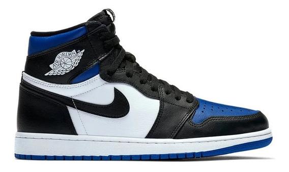Tênis Nike Air Jordan 1 High Royal Toe
