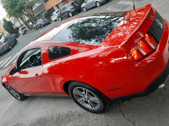 Precioso Mustang Piel V6 310 Hp Premium Impecable