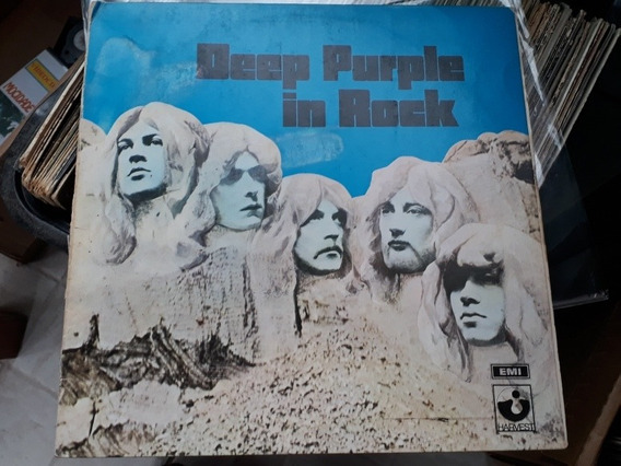 Lp Deep Purple - In Rock 1970/73 Br