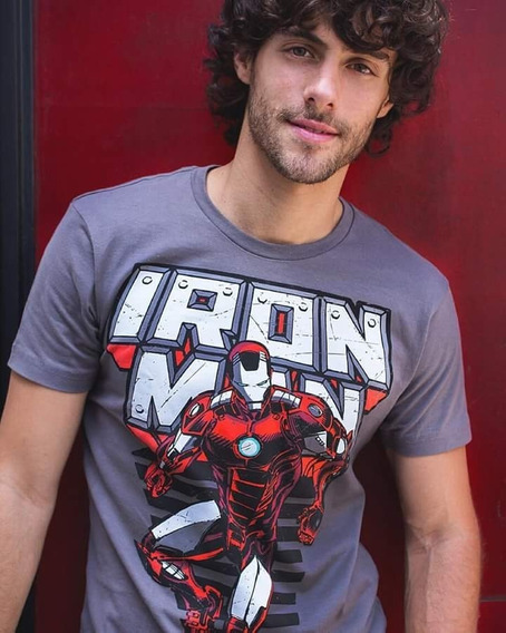 Playera Ironman Mascara De Latex. Precio Oferta