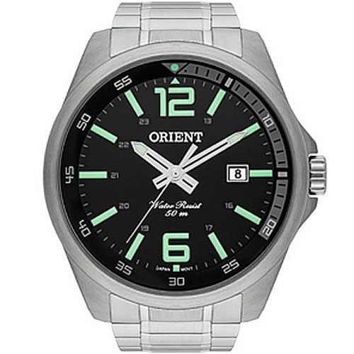Relógio Orient Masculino Prata - Mbss1275 P2sx