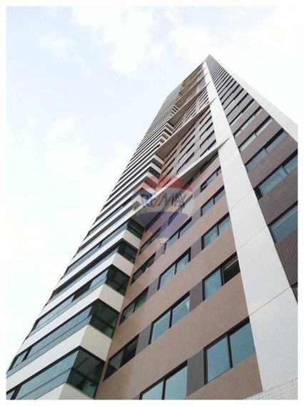 Apartamento Com 4 Dormitórios À Venda, 203 M² Por R$ 1.400.000 - Torre - Recife/pe - Ap1124