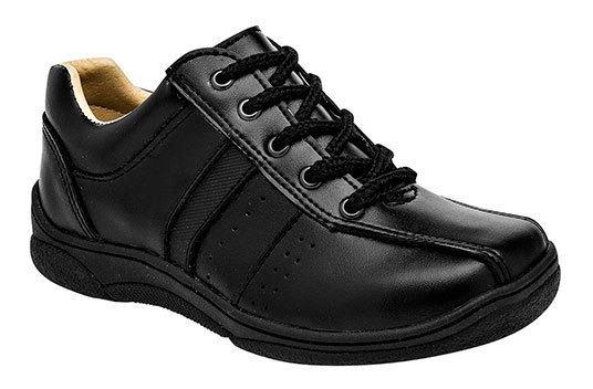 Sneaker Escolar Cosmos Negro Sintético Niño J32698 Udt