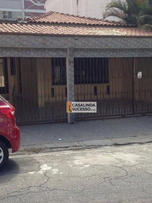 Casa Comercial 200m² 5 Dormts 6 Vagas Próx. Pq. Ceret - Ca6011 - Ca6011